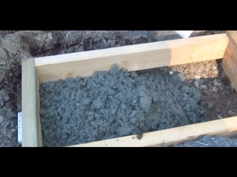 Install a Trench Drain Video 4 of 7