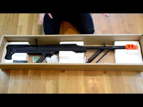 Snow Wolf M99 Sniper Rifle Unboxing (Barrett .50 Cal)