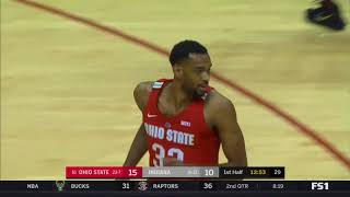(NCAAM) #16 Ohio State Buckeyes at Indiana Hoosiers in 50 Minutes (2/23/18)