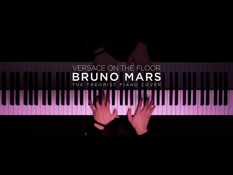 Bruno Mars - Versace On The Floor | The Theorist PIano Cover