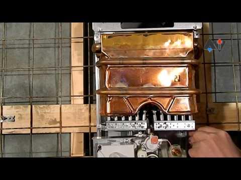 Видео как снять газовую колонку