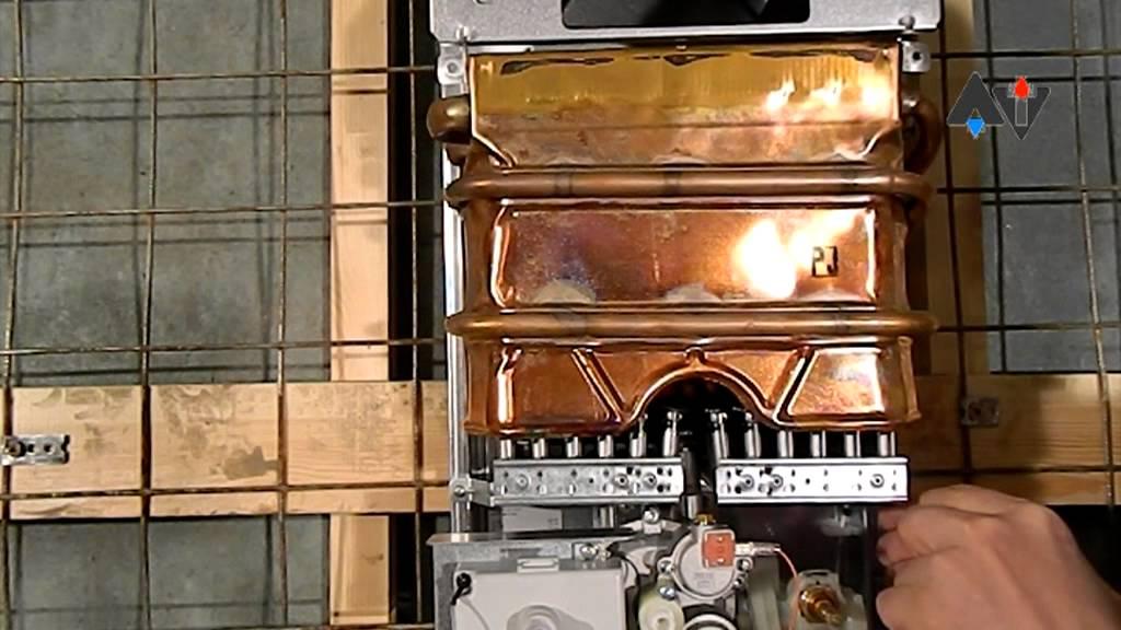 Как снять теплообменник с газовой колонки юнкерс теплообменник вертикальные модель