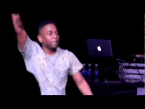 Kendrick Lamar - Money Trees & Backseat Flow (Live 12-2-2012)