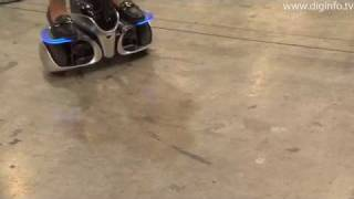 Toyota Winglet Personal Transport Assistant Robot #DigInfo