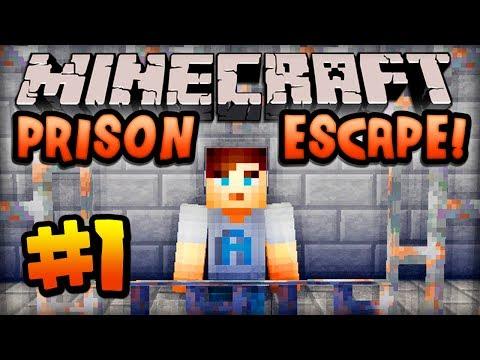 Minecraft PRISON ESCAPE Episode #1 w Ali A HELP ME