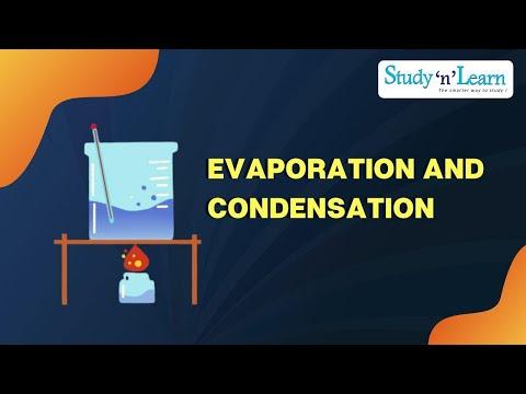 Evaporation Condensation Evaporation And Condensation