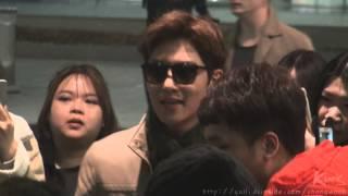 150306 인천공항 입국 지창욱 (Ji Chang Wook)