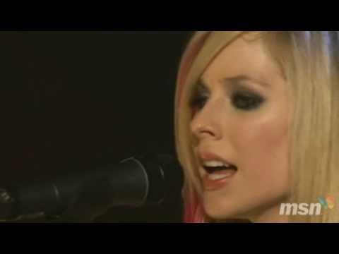 avril lavigne live acoustic ep. Avril Lavigne - Adia (Live)