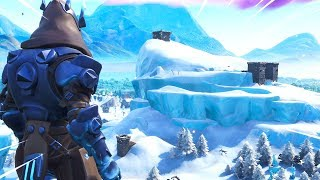 Exploring The New Fortnite SNOW MAP.. (Season 7)