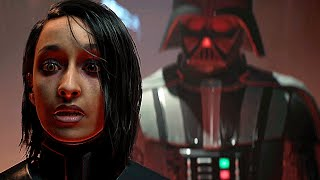 Star Wars Jedi Fallen Order DARTH VADER Entrance Scene Final Boss Ending (2019)