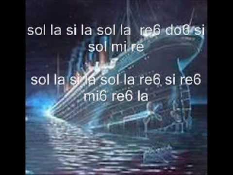 Notas Flauta Doce Titanic Notas Del Titanic Para Flauta