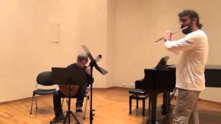 Romeo and Juliet - Nino Rota- Nikos Katritzidakis (flute) and Nikos Gravanis (guitar)