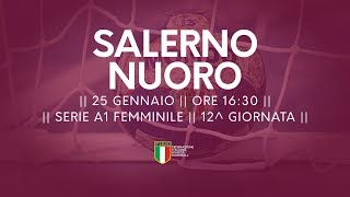 Serie A1F [12^]: Salerno - Nuoro 34-25