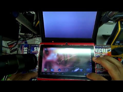 reparacion de tablet que se va la imagen despues de encender