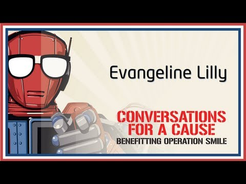 Conversation with Evangeline Lilly - Nerd HQ (2013) HD
