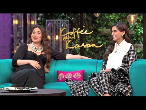 Kareena Kapoor And Sonam Kapoor On Koffee With Karan Season 5