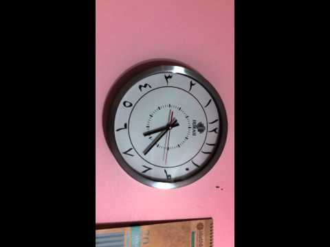 Islamic Clock.MOV