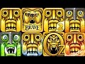 TEMPLE RUN 2 Vs TEMPLE RUN BRAVE Vs TEMPLE RUN OZ Android IOS mp3