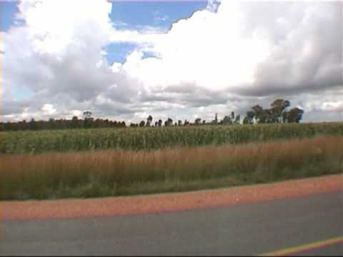 rit door Mpumalanga, Zuid-Afrika