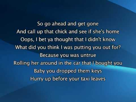 Beyonce - Irreplaceable, Lyrics In Video