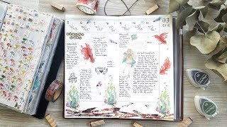 Journal With Me #1 | AliExpress washis in my Midori Traveler's Notebook!