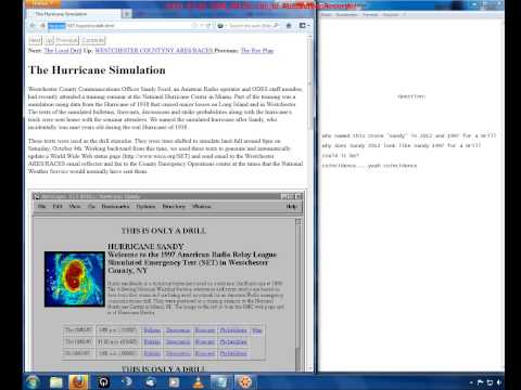 USA UPDATE 2: Hurricane Sandy Coincidence 1997 2012 all the same
