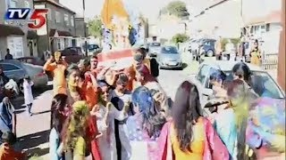 London 'Hyderabad Friends Youth' Ganesh Immersion Celebrations