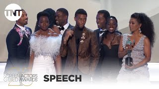 Black Panther: Award Acceptance Speech | 25th Annual SAG Awards | TNT
