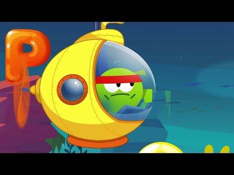 Supernoms play ABC arcade / Learn English with Om Nom / Educational Cartoon