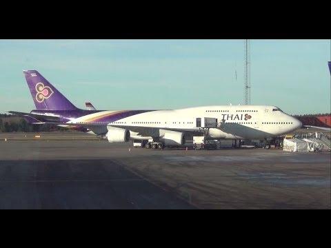Boeing 747 Thai Airways Thai Boeing 747-400 Before