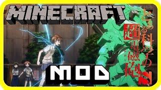 Minecraft [1.7.10]:Academycraft 1.0.4 Super rail gun power | Japanese mod | Anime Mod