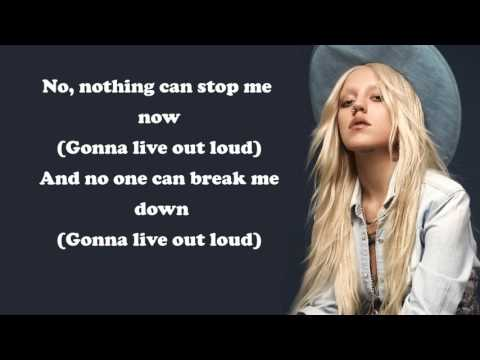 Brooke Candy - Living Out Loud ft. Sia [Lyrics]