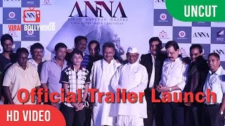UNCUT - Anna Official Trailer Launch | Shashank Udapurkar, Tanishaa Mukherji, Govind Namdeo