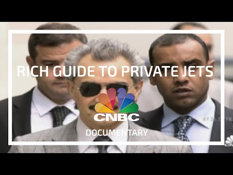 CNBC  The Filthy Rich Guide to Private Jumbo Jets