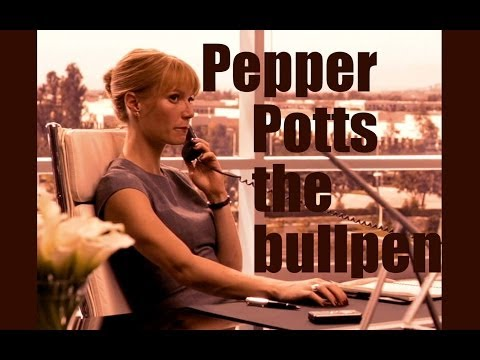 Pepper Potts vid - The Bullpen