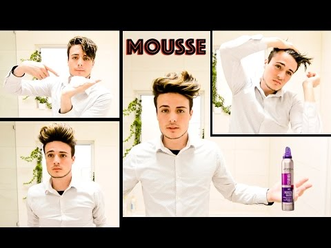 Men's Hairstyle How To: Why Hair Mousse is so Great