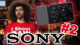 PHOTO NEWS FIX: SONY Passes Nikon (Kinda), Canon Next? Weird 16 Lens Camera & SONY NAB Truck Stolen