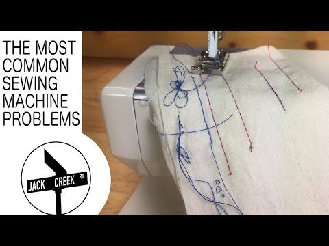 Sewing Machine Problems The Most Common Issues YouTube Best Troubleshoot Sewing Machine