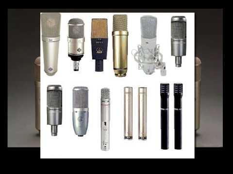 Microfonos clasificacion - Curso de Grabacion a Distacia