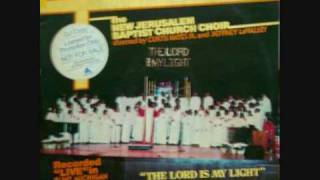 """I Go To The Rock""- New Jerusalem Baptist Church Choir"