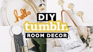 Easy DIY Tumblr Inspired Room Decor for SPRING 2018 - Minimal + Trendy // Lone Fox