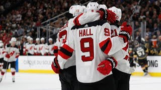 Devils put up eight goals against Golden Knights