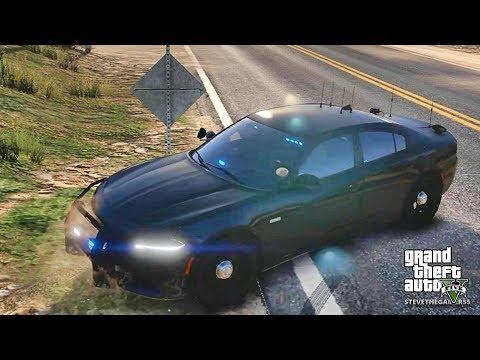 GTA 5 MODS LSPDFR 729 - CHARGER PATROL !! (GTA 5 REAL LIFE PC MOD)