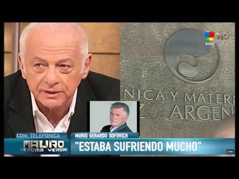 Los famosos despiden con mucha tristeza a Gerardo Sofovich