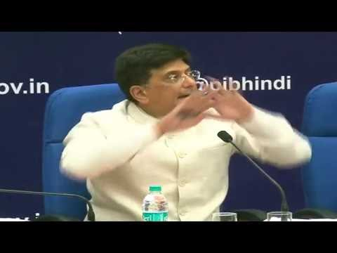 Live: PC by Shri Piyush Goyal on completion of 2 years of Union Government.