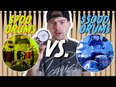 $700 Drums VS $5,000 Drums
