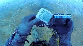 Found a Wallet with a wad of $2 Dollar Bills in it! Tons of sunglasses and big fish!