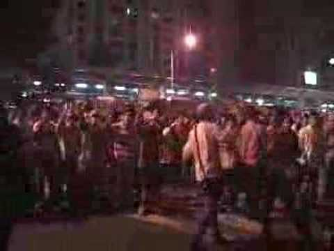 Riot at US army base in Korea