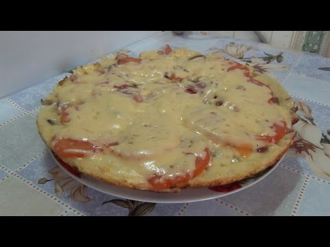 ПИЦЦА ПЯТИМИНУТКА!!! Pizza in five minutes !!!