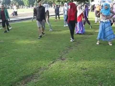 FLASH MOB -Where Have U Been (Rihanna) by  DELL University Students, UNSIQ Wonosobo